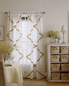 bedroom curtain idea