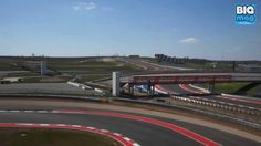 Formel 1 Fahrer Sebastian Vettel von Infiniti Red Bull Racing nimmt uns mit auf eine Runde über den Circuitof the Americas!