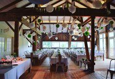 Hochzeitstafeln in Kirchstett.