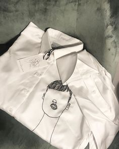 Artist collaboration. OSLO:UNBRANDED (@oslounbranded) • Instagram photos and videos Italian Women, Italian Lady, Custom Embroidered Shirts, Oslo, Pretty Cool, Scandinavian Design, Shirt Dress, Happy Life, Norway