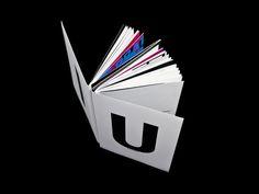 """U"" and ""I "" by wenkang kan, via Behance"
