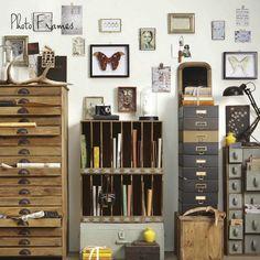 Archivador industrial :: Tiendas de decoracion | Decoracion rustica | Decoración online