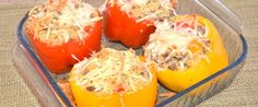 How To Make Quinoa Stuffed Bell Peppers | Food Storage Moms