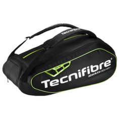 #Squash - Tecnifibre Absolute 12R   Bag - 3 compartments with a wet section and can hold up to 9 rackets - R1,550.00