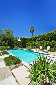 Australian Outdoor Inground Pool w / Landscaping