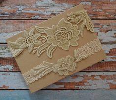 Dark Ivory Lace Wedding Garter Set, Wedding Garter, Ivory/Tan/Taupe Lace Bridal Garter Set, Bridal Garter Belt, Floral Lace Garter Belt, FL1 by SpecialTouchBridal on Etsy