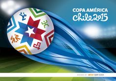 "Another background for the upcoming Copa America 2015 from June 11th to July 4th in Chile. It shows a soccer ball being thrown high above the stadium leaving a blue wake behind, it has ""Copa América 2015"" written with official typography on top. Prepare your promos for the event with this cool vector. High quality JPG included. Under Commons 4.0. Attribution License."