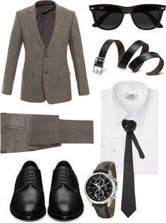 Professional Dress for Men Work Clothes (Minus the sunglasses when interviewing!)