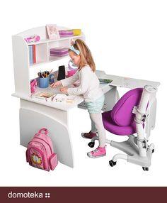 Przestrzeń ma znaczenie, to fakt, dlatego już dziś masz szansę dobrać biurko zarówno do małych, jak i dużych powierzchni. Biurka dziecięce to możliwość wyboru jednej z aż 3 szerokości! Co więcej, wersja ERGO zachwyca jeszcze bardziej! Rośnie Twoje dziecko, rosną wymagania, rośnie nasze biurko. Dopasuj wysokość do wzrostu dziecka i ciesz się z postępów! Meblik inspiruje!