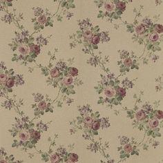 992-68357 Burgundy Rose Trail Wallpaper - Kristin - Mirage Wallpaper