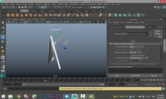 Maya 2016 tutorial : How to animate a waving flagpole