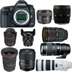 Best Lenses for Canon EOS 5D Mark III