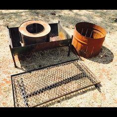 All types of braai equipment, in preparation for Oppikoppi 2017