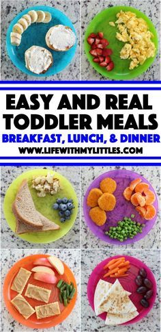 Easy {and Real} Toddler Meal Ideas - Life With My Littles - Easy {and real} toddler meal ideas for everyday, busy moms. The best suggestions for breakfast, lunch, dinner, and snacks! Easy {and Real} Toddler Meal Ideas – Life With My Littles Healthy Toddler Meals, Healthy Kids, Easy Toddler Lunches, Healthy Toddler Breakfast, Toddler Lunchbox Ideas, Toddler Menu, Healthy Lunch For Toddlers, Healthy Dinner For Kids Picky Eaters, Baby Breakfast