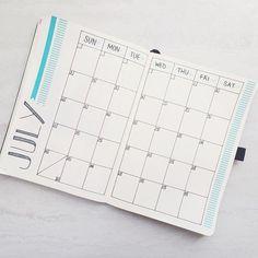 Nothing quite like a fresh month. . . #bulletjournal #bulletjournaljunkies #bujo #planner #planneraddict #plannergirl #plannercommunity