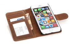 Mobiletto iPhone 6 Plus LUXURY Case Schutzhülle hellbraun