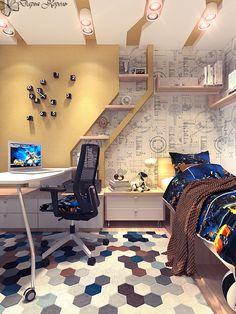 Детская комната для мальчика / Ваш Королевский дизайн