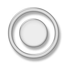 Clear Circle Button Icon #016907 ❤ liked on Polyvore featuring circle, glass effects, overlays, borders, circular, picture frame and round