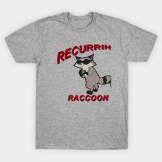 Recurring Raccoon milo-murphys-law Classic T-Shirt Milo Murphys Law, Murphy Law, Phineas And Ferb, Classic T Shirts, Graphic Tees, Cricut, Disney, Mens Tops, Create A Critter