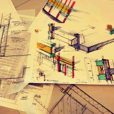 Sketch by myself - detailing studies