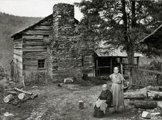 Great Smoky Mountains National Park Photo by Jack E. Boucher, Historic American Buildings Survey In 1866 John Walker and Margaret Wiley married, and a few years later they moved into this two-story log house, built by Margaret's father and brothers. Here the couple farmed and raised eleven children. Six of the Walkers' daughters never married, and they lived as spinsters on the farm for decades. They tended the nearby apple orchard, grape arbors, bee gums, livestock pens, truck patch, corn…