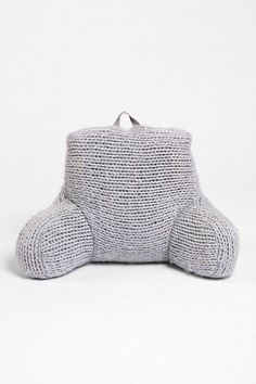 I want one!   Urban Outfitters Plum & Bow Cable Knit Boo Pillow  ($169)