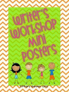 Writer's Workshop Mini Posters