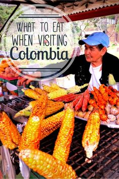 What to eat when visiting Colombia! The best Colombian food to eat during your travels. #streetfood #food #travel