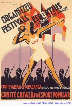 Spain - 1936. - GC - poster - autor: Lorenzo Goni