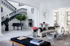Francis Sultana Updates a Historic London House with Contemporary Art : Architectural Digest