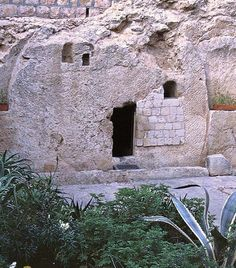 This is the tomb where they laid Jesus after His death on the cross...it's empty! I have been there. Jesus Lives! ASk me how I know HE lives, He lives within my heart! dena_wooldridge