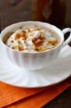 Pumpkin Spice Latte. I LOVE fall season for this drink!!