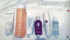 O segredo da pele perfeita de Rosie Huntington-Whiteley (Foto: Reprodução/Snapchat)
