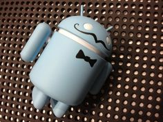 Got this little guy at SXSW. Schemer Android