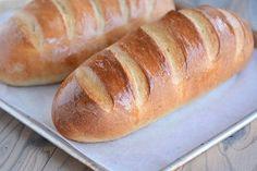 Easy Homemade French Bread Yeast Dough Recipe, Yeast Bread Recipes, Baking Recipes, Easy Recipes, Crust Recipe, Juice Recipes, Popular Recipes, Salad Recipes, How To Make Bread