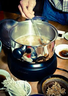 Shabu Shabu how to guide!  Enjoyed while in Korea -- such a fun dining experience.