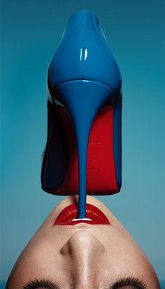 Get a taste of Christian Louboutin by www.ClosetontheGo.com/e-shop