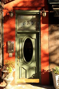 New York City Door. This will be my home.