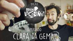 COMO SEPARAR CLARA E GEMA DE OVO (MUYLOCO DICAS)
