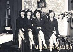 USO girls. 1944