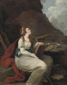 View A personification of Astronomy Circle Angelica Kauffmann; Oil on copper; Access more artwork lots and estimated & realized auction prices on MutualArt. Angelica Kauffmann, Sculpture, 18th Century, Mythology, Oil On Canvas, Artwork, Paintings, Marie Antoinette, Telescope
