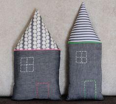 Coussins maison fluo touch cushions