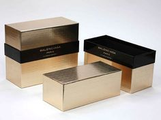 Balenciaga Paris Special Event Container This eye-catching container was created… Skincare Packaging, Luxury Packaging, Cosmetic Packaging, Jewelry Packaging, Brand Packaging, Packaging Design, Label Design, Box Design, Booklet Design