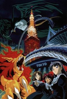 Magic Knight Rayearth and the Tokyo Tower Anime Couples Manga, Manga Anime, Otaku, Magic Knight Rayearth, Card Captor, Tokyo Tower, Bishounen, Strong Girls, Cardcaptor Sakura