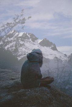 ..en lo alto del monte...