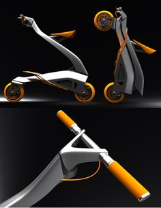 Stylish Zoomla Folding Bike for Quick Around-Town Transportation Folding Bicycle, Bicycle Art, Scooter Design, Bicycle Design, Scooters, Motorized Bicycle, Kick Scooter, Moto Bike, Quad