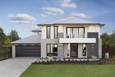 Find new home designs in QLD. Refine the search and discover the best house designs & floor plans for your dream home. New Home Designs, Cool House Designs, Modern House Design, Contemporary House Plans, Modern House Plans, African House, Plantation Homes, Dream House Exterior, Building A New Home