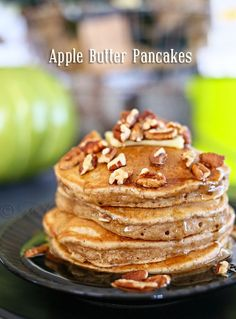 Apple Butter Pancakes on kleinworthco.com