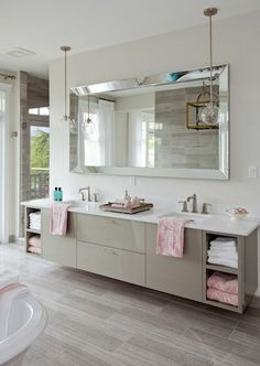27+ Trendy Bathroom Mirror Designs of 2017