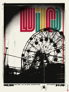 wilco. I love this gig poster so much.